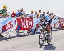 The Cyclist Gert Steegmans Stock Photos