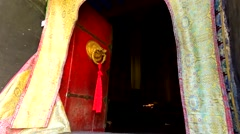 Tibetan Monastery Red Doorway No.1 Stock Footage
