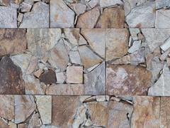 tile pieces of granite and marble - stock photo