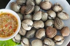 Seafood shellfish Stock Photos