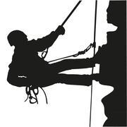 Climber Stock Illustration