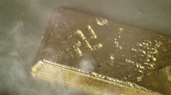Nazi gold bar Stock Footage