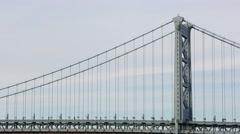 Ben Franklin Bridge Stock Footage