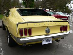 Ford Mustang Mach 1 351 cubic inch Stock Photos