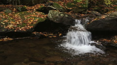 Waterfalls At Ricketts Glen State Park Stock Footage