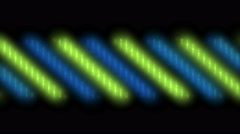 4k color neon stripe light,stage vj music background. Stock Footage