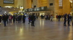 GCT Grand Central Terminal NYC Timelapse Stock Footage