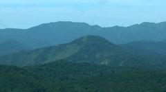Shirakami Mountains, Akita Prefecture, Japan Stock Footage