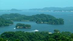 Matsushima, Miyagi Prefecture, Japan Stock Footage