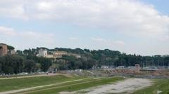 Circo Massimo, Rome, Italy Stock Footage