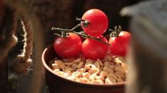 Dykoratsiya tomato Stock Footage