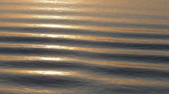 Ripples in early morning light on the Irrawaddy,Irrawaddy,Burma Stock Footage