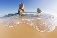 Twelve Apostles in Australia Stock Photos