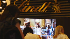 Lindt siege Sydney cafe reopens 32 4K Stock Footage