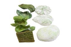 Stock Photo of sachet on white