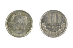 coin Mongolia - stock photo
