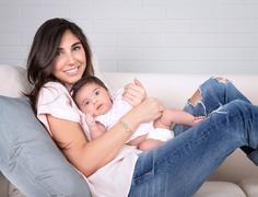 Happy motherhood - stock photo