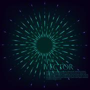 Starburst Stock Illustration