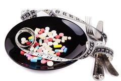 Nutrition and Diet - stock photo