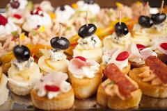 Decorative appetizer Stock Photos