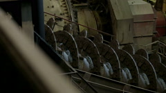Screw conveyor Stock Footage
