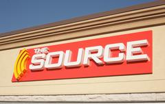 The Source Outlet Stock Photos