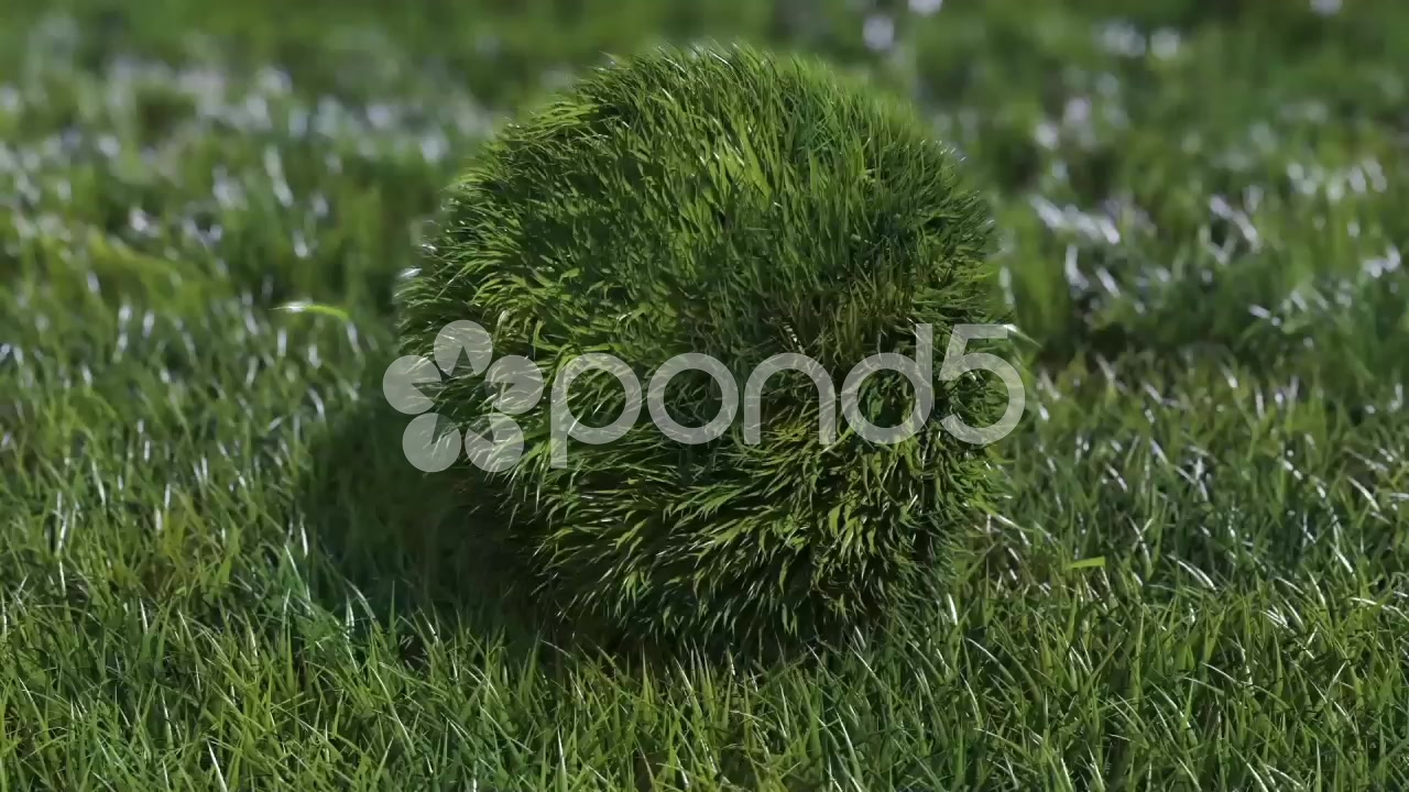 After Effects Project - Pond5 Bouncy Grass Ball Logo 48685499