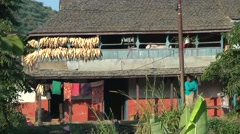 Farm house,Bandipur,Nepal Stock Footage