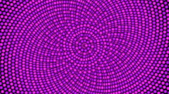 Loopable cyclic animated kaleidoscopic spiral-66B37b-n - stock footage