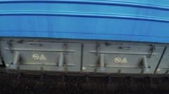 Passenger wagon Stock Footage