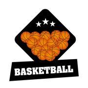 Stock Illustration of basketball championship