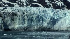 Alaska Glacier Bay Sunny Stock Footage