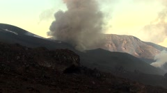 Mount Etna explosion Stock Footage