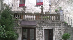 Old  City Kotor full HD Stock Footage