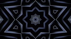 Monochrome geometric shapes Stock Footage