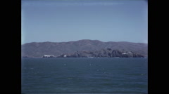 View of Northern California Coast from Ship in Pacific 1954- 2 Stock Footage