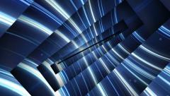 Abstract Lines Tunnel, with Alpha Channel  Stock Footage