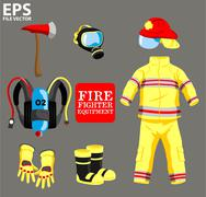 FIRE FIGHTER EQUIPMENT Piirros