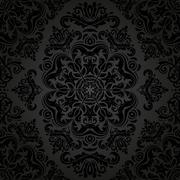 Pattern in the style of Baroque. Abstract  Background Stock Illustration