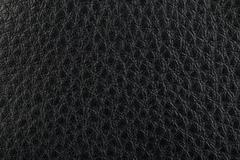 Black leather texture background Stock Photos