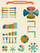 Infographic Element Set. Vector illustration Stock Illustration