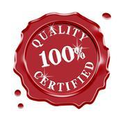 Quality Certified Guarantee Warranty Stock Illustration