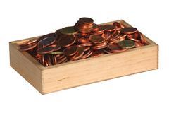 Stock Photo of Money Box