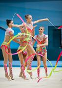 Rhythmic Gymnastics World Championship Stock Photos