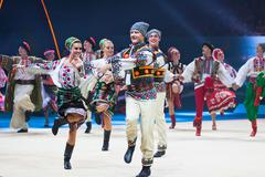 Gala Concert at Rhythmic Gymnastics World Championship Stock Photos