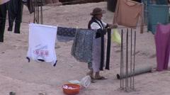 Slums in Cusco, Peru Stock Footage