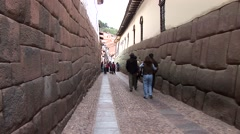 Stock Video Footage of Streets in Shanty town in Cusco, Peru