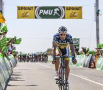 The Cyclist Juan Antonio Flecha Giannoni Stock Photos