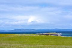 Beautiful landscape, Iona island, Scotland - stock photo