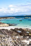 Summer at Iona island, Scotland - stock photo